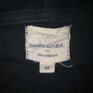 Banana Republic Factory Tops - Banana Republic Black Sweatshirt